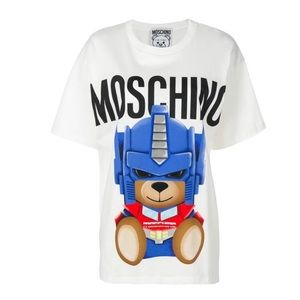 Moschino Jeremy Scott Teddy Bear Transformers sz M